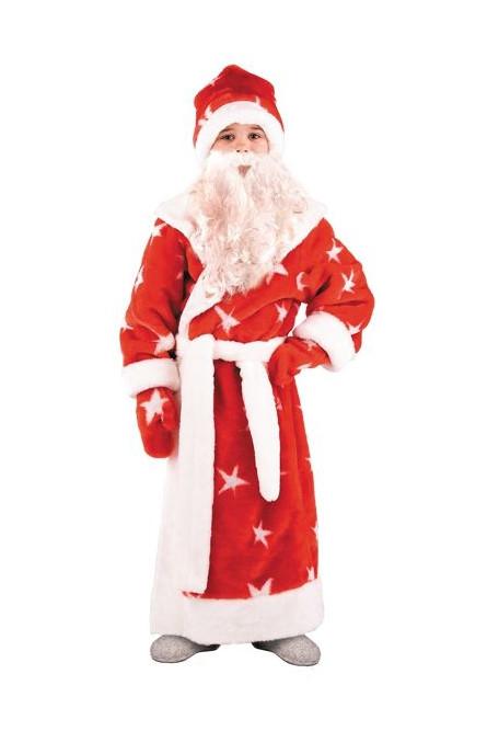 Костюм Деда Мороза детский - купить на Vkostume.Ru, описание, цена ... e346562de7e