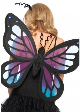 Костюм крылья для бабочки своими руками для костюма