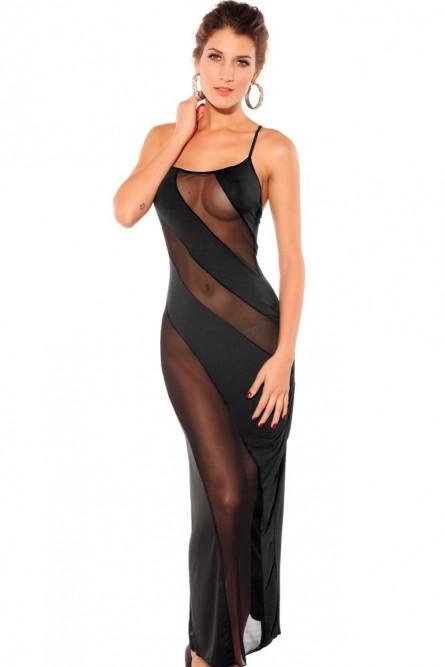 Стриптизерши в прозрачных платьях