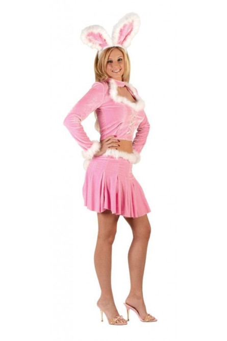 Костюм розового кролика секси - купить на Vkostume.Ru c3351e58c81b0