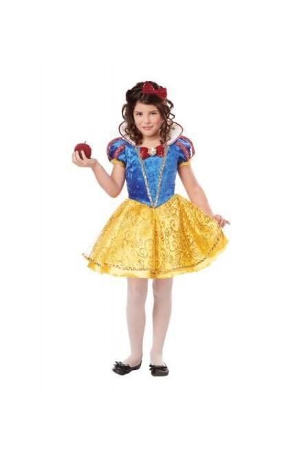 ad9bb46962653d9 Детский костюм Белоснежки Deluxe - купить на Vkostume.Ru, описание ...