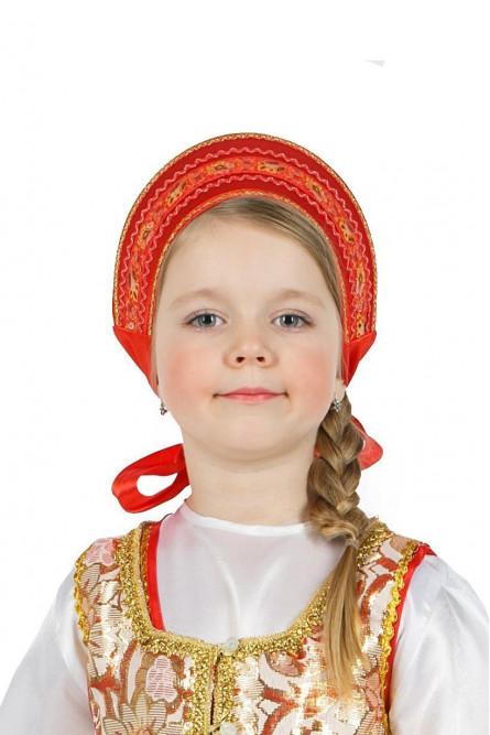 Русский кокошник для девочки