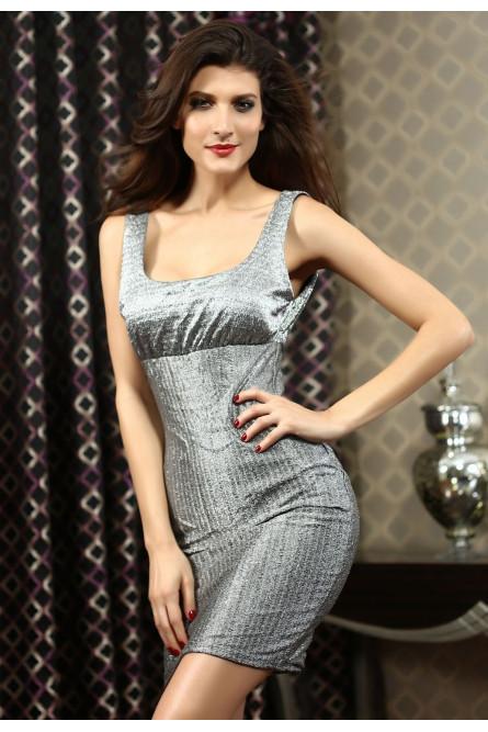 f3fb22c6d089855 Блестящее платье металлик - купить на Vkostume.Ru, описание, цена ...