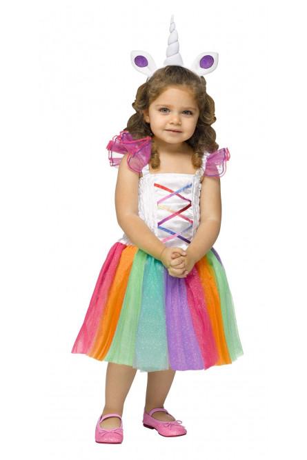 Детский костюм Радужного единорога - купить на Vkostume.Ru 9d1cd74ad6adc