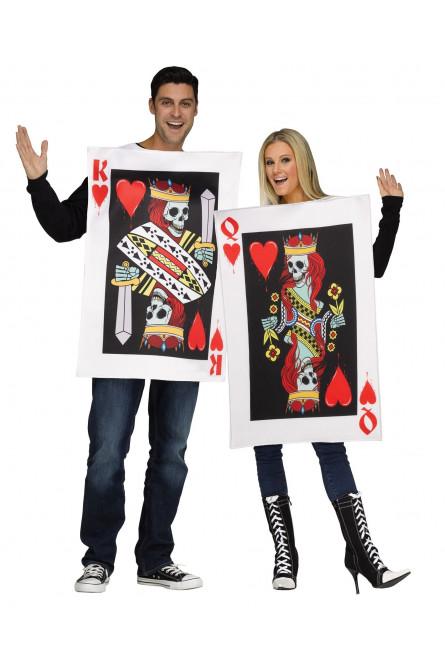 3df82ae7 Парный костюм Король И Королева червей - купить на Vkostume.Ru ...