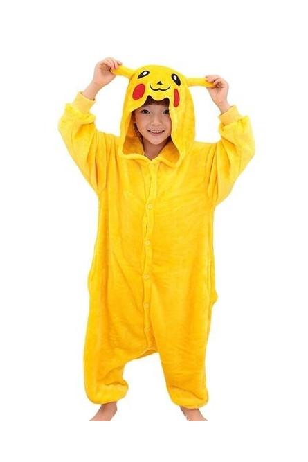 Детская пижама кигуруми Пикачу - купить на Vkostume.Ru f033aab26f182