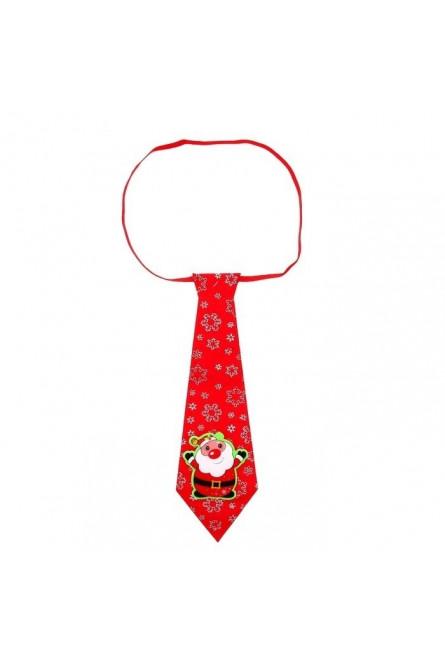 Новогодний галстук Дед Мороз
