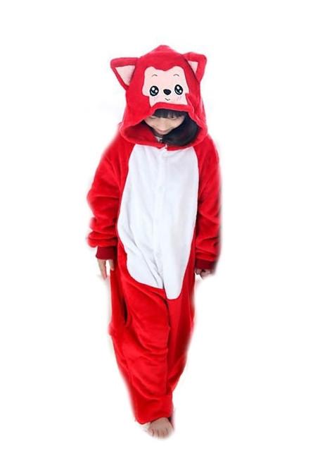 Детская пижама Кигуруми Красный котик - купить на Vkostume.Ru ... e7ce8c49de006
