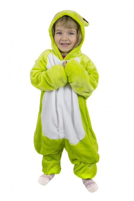 Детская пижама кигуруми Лягушка - купить на Vkostume.Ru a78f234a2b9ec