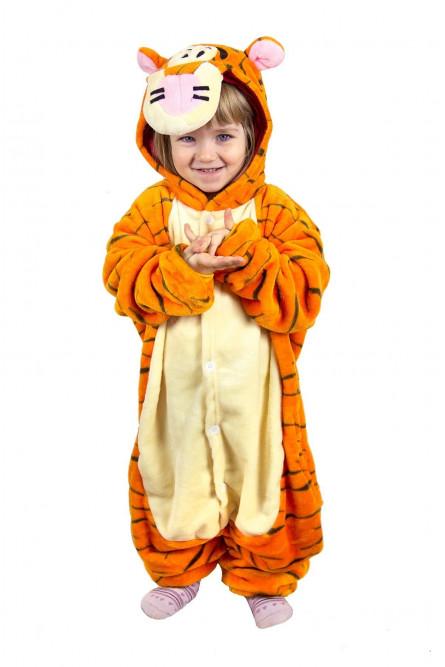 Детская пижама Кигуруми Тигра - купить на Vkostume.Ru 4613de75df81a