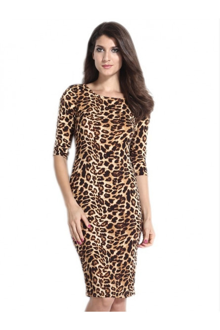 Платье леопардовое отзывы