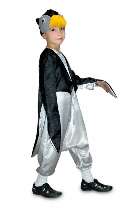 Костюм Пингвина для детей (28-30), Черный