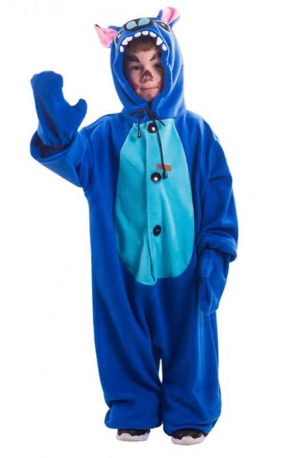 Детская пижама-кигуруми Стич - купить на Vkostume.Ru aedeb47d57a30