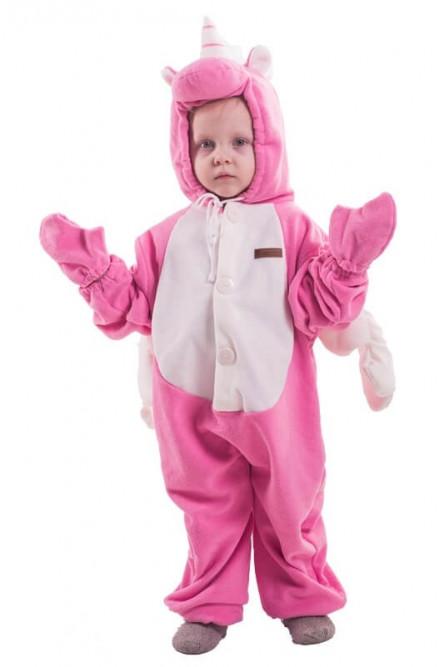 Детская пижама-кигуруми Розовый Единорог 0b42eafb43610