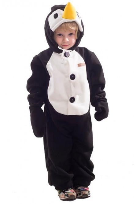Детская пижама-кигуруми Пингвин - купить на Vkostume.Ru 0933891137556