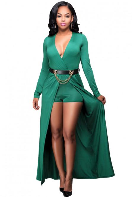 Зеленое платье-комбинезон - купить на Vkostume.Ru, описание, цена ... d43eecb24ed