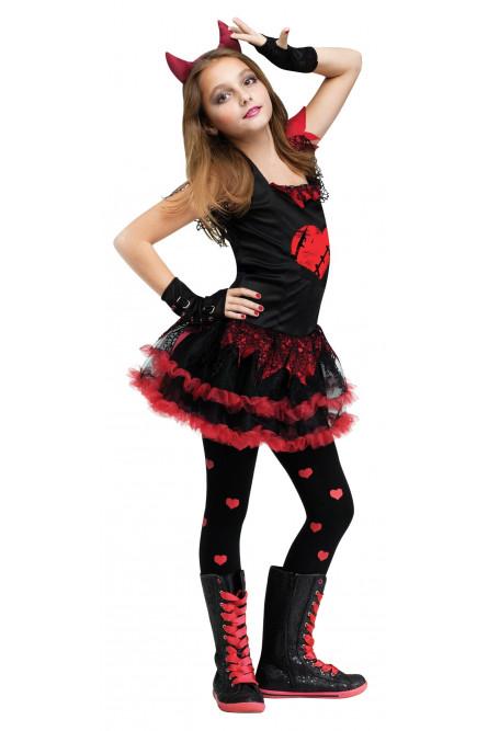 6aac3010c71c455 Детский костюм Девочки Чертика - купить на Vkostume.Ru, описание ...