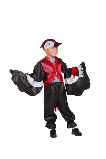 Детский костюм Дятла (30-32), Черный