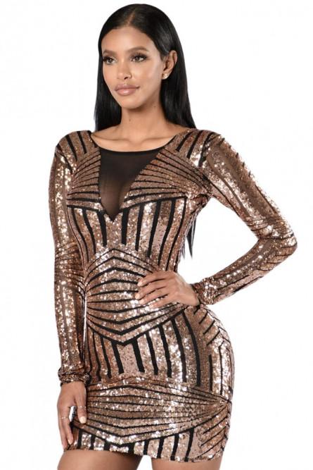 2e7db1a796d Блестящее платье для клуба - купить на Vkostume.Ru