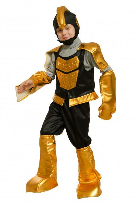 Детский костюм Золотого Робота (28-30), Золотой