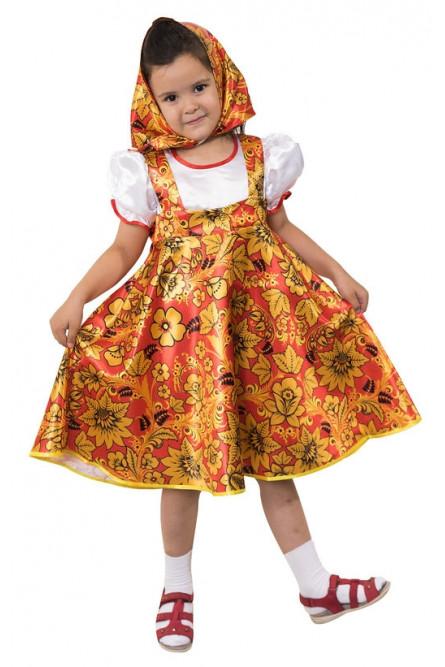 Детский костюм Матрешки Хохлома - купить на Vkostume.Ru d1f28f202968b