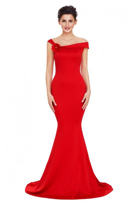 1ed4d376fd523b9 Вечернее красное платье в пол - купить на Vkostume.Ru, описание ...