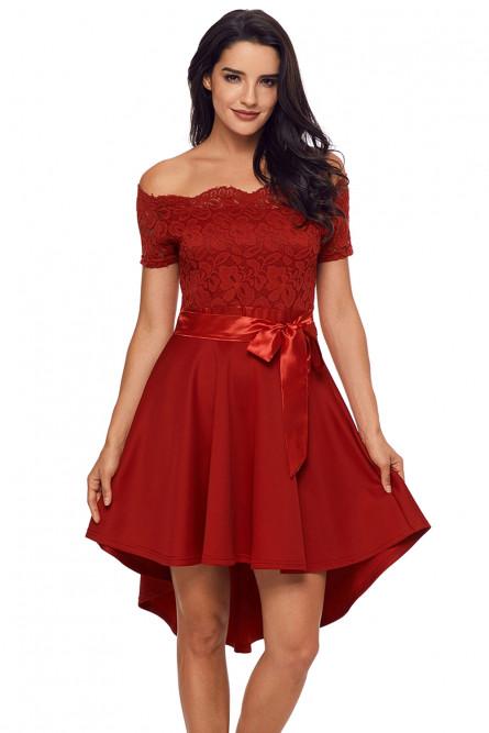 c83442b7c52 Нарядное красное платье - купить на Vkostume.Ru
