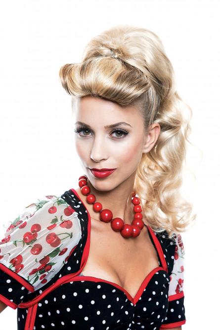 2e61aab1042da88 Ретро парик накладной хвост - купить на Vkostume.Ru, описание, цена ...