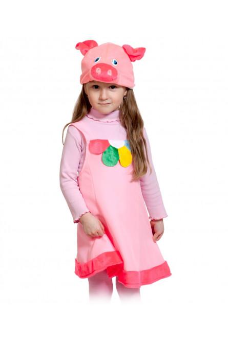 6ff1fafce080f Детский костюм Поросенка с цветком - купить на Vkostume.Ru, описание ...