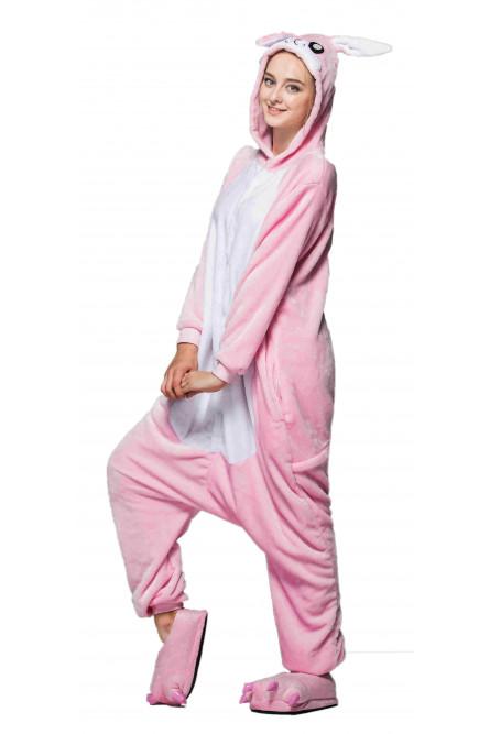 Кигуруми Розовый кролик - купить на Vkostume.Ru 009dd3c0a2c02