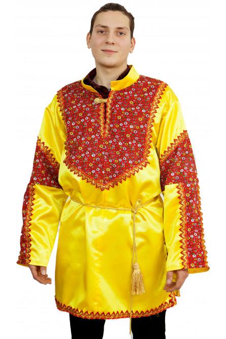 Взрослая желтая рубаха