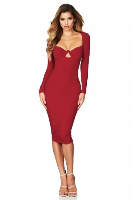 f2d86735bc597cf Соблазнительное красное платье - купить на Vkostume.Ru, описание ...