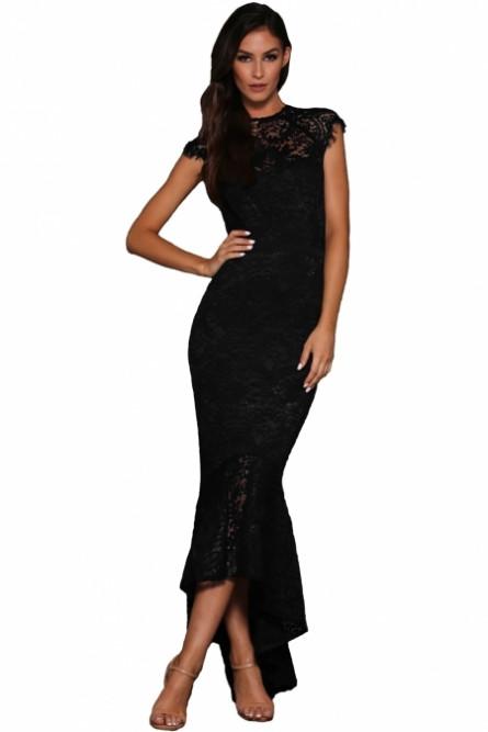3630d750be5 Черное вечернее кружевное платье - купить на Vkostume.Ru