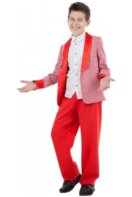 589a0e0c45c2e24 Детский красный костюм Стиляги - купить на Vkostume.Ru, описание ...