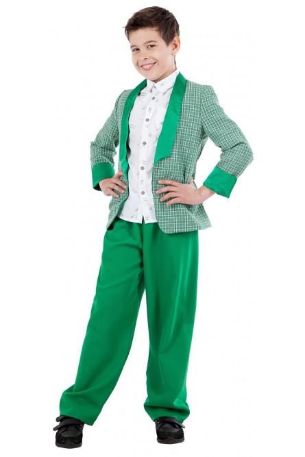 5c544d5278de052 Детский зеленый костюм стиляги - купить на Vkostume.Ru, описание ...