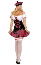 Костюм шотландской школьницы