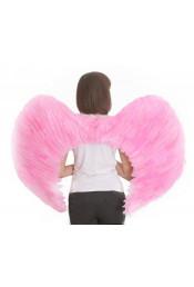 Крылья розовые 100 см