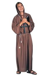 Костюм монаха в коричневой робе