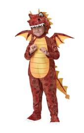Костюм огнедышащего дракона детский
