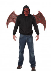 Маска и крылья демона
