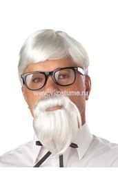 Парик, усы и борода полковника