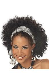 Сказочный диско-парик