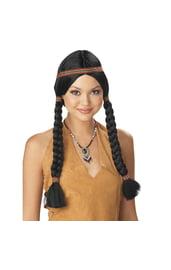 Парик женщины индейца
