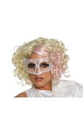Вьющийся парик Леди Гага