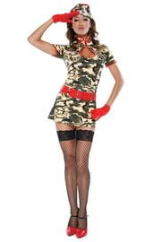 Костюм армейской красотки