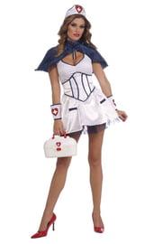 Костюм медсестры голубой