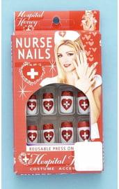 Накладные ногти медсестры