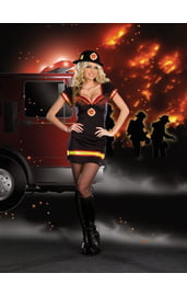 Костюм милой пожарницы