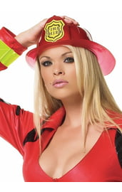 Каска пожарницы