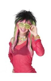 Цветной парик конфетки